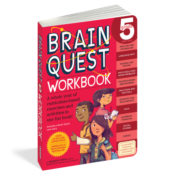 Brain Quest Grade 5 Workbook