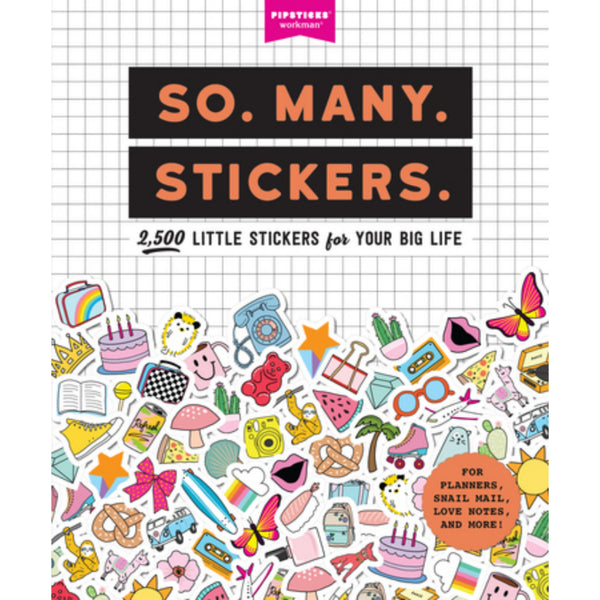 So Many Stickers Book