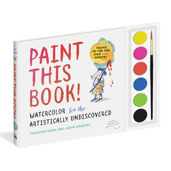 Paint This Book! Watercolor Kit