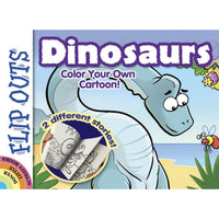 Color Your Own Dinosaur Flip Book