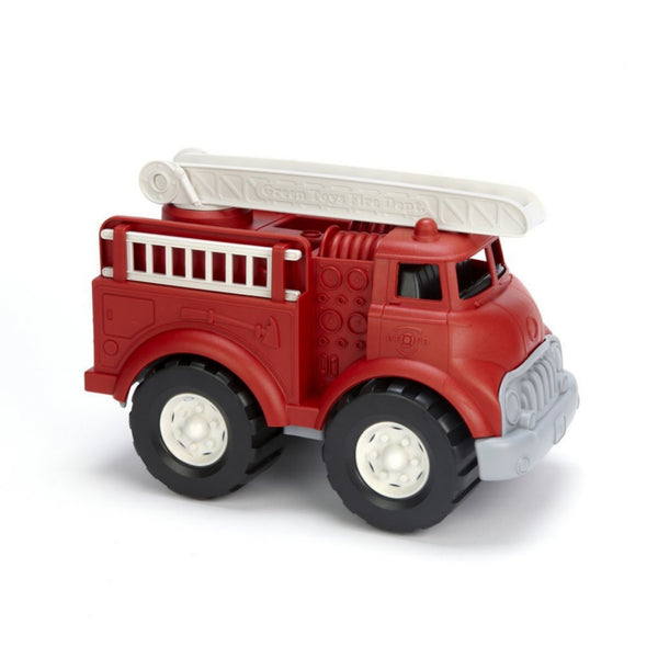 "Recycled Plastic 11"" Fire Truck"