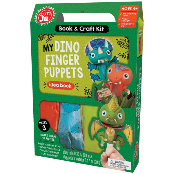 My Dino Finger Puppets