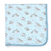Little One Blue Modal Swaddle Blanket