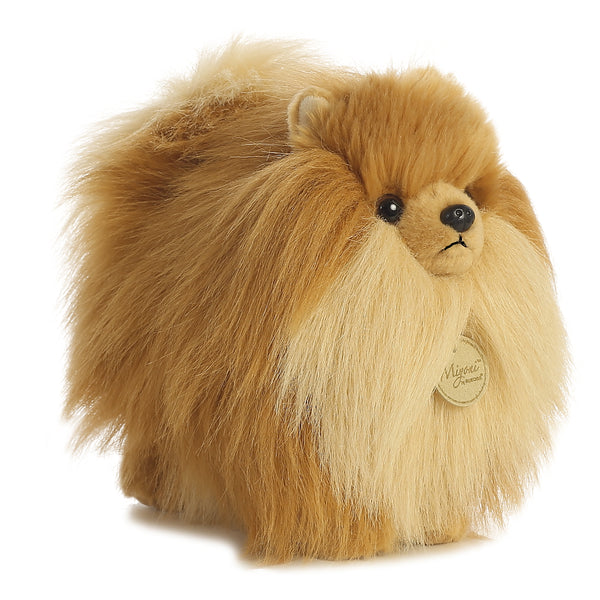 "Pomeranian Dog 9"" Miyoni Plush"