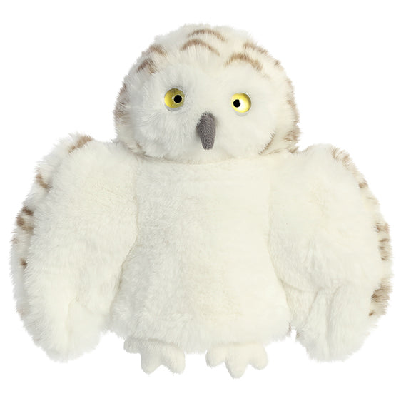 "Snowy Owl 9"" Hand Puppet"