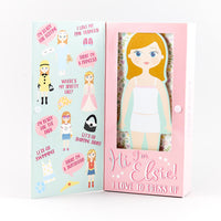 Elsie Magnetic Dress Up Doll