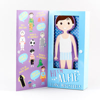 Alfie Magnetic Dress Up Doll