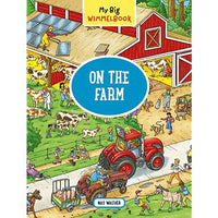 On the Farm Wimmelbook Board Book