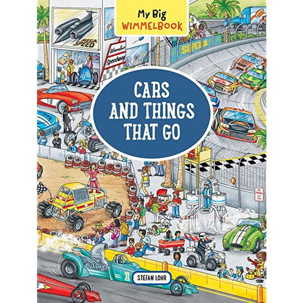 Cars and Things That Go Wimmelbook Board Book