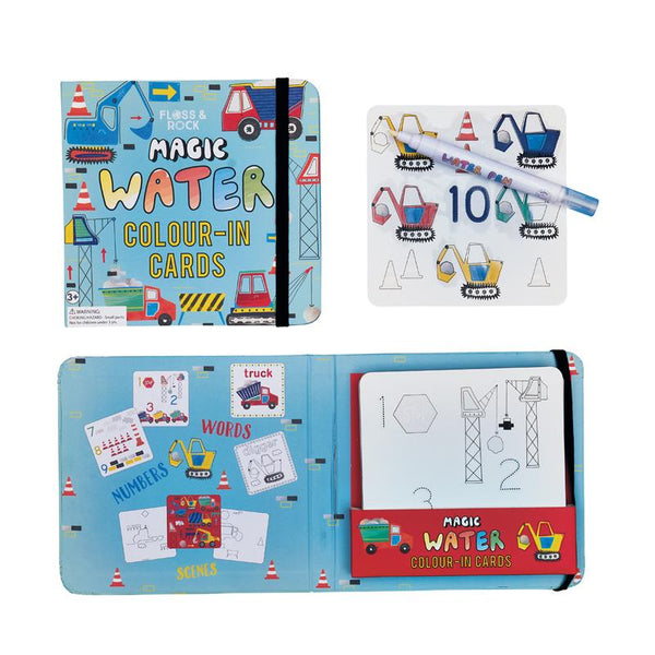 Construction Magic Water Color-in Cards