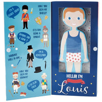 Prince Louis Magnetic Dress Up Doll
