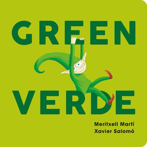 Green-Verde Board Book