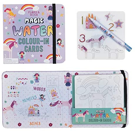 Fairy Unicorn Magic Water Color-in Cards