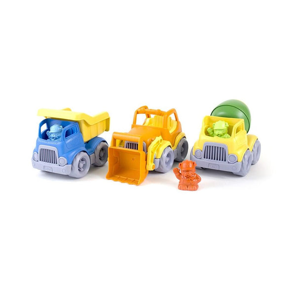 Recycled Plastic Construction Truck Set