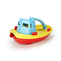 "Recycled Plastic 9"" Tugboat"