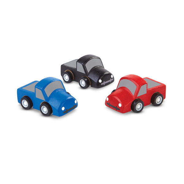 Plan Toys Mini Trucks Set