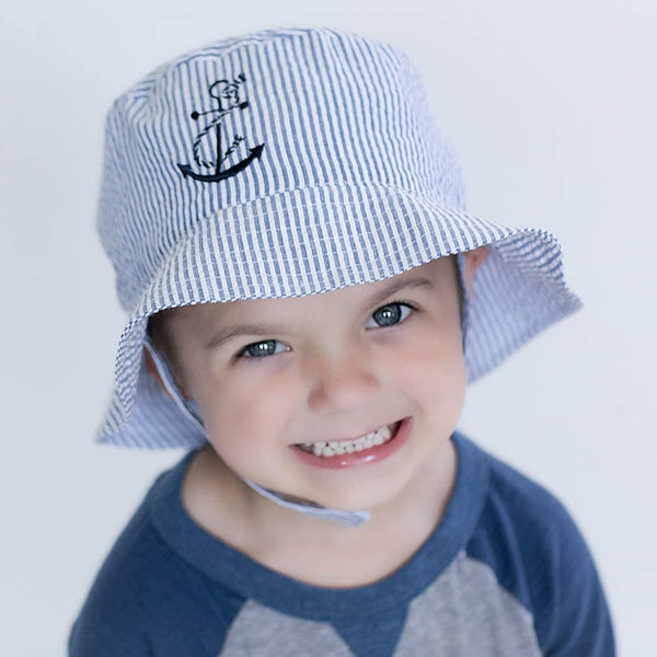 Anchor Bucket Hat UPF 25+