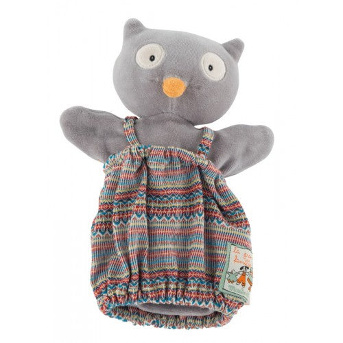 "Isidore the Owl 10"" Hand Puppet"