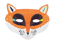 Fox Cardboard Mask Set