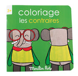 Opposites Les Popipop Coloring Book