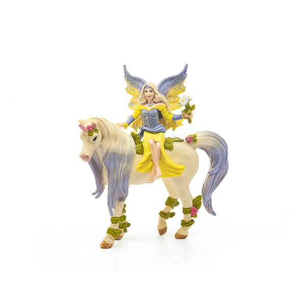 "Fairy Sera & Blossom Unicorn 7"" Figure"