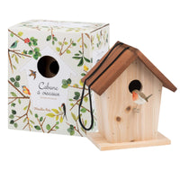 Le Jardin du Moulin Wooden Bird House