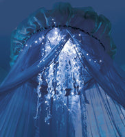 Aquaglow Light-Up Jellyfish Hideaway Canopy