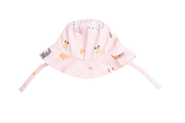 Puppy Play Sunhat Pink