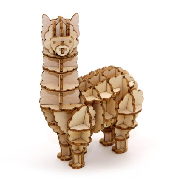 Alpaca IncrediBuilds 3D Wood Model Kit