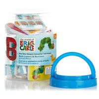 Very Hungry Caterpillar Foam ABC 123 Bath Set