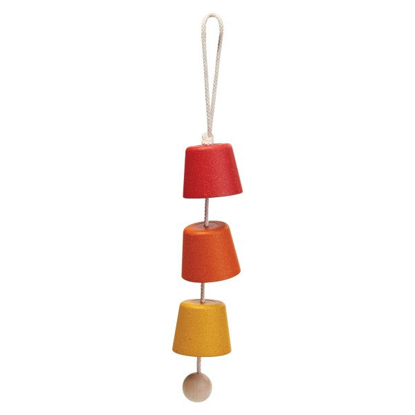 Garden Chimes Yellow-Red