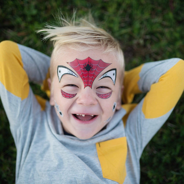 Spider Face Stickers