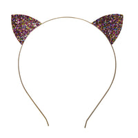 Jeweled Cat Ears Headband