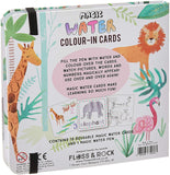 Jungle Magic Water Color-in Cards