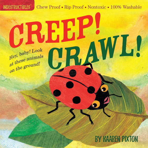 Creep! Crawl! Indestructible Book