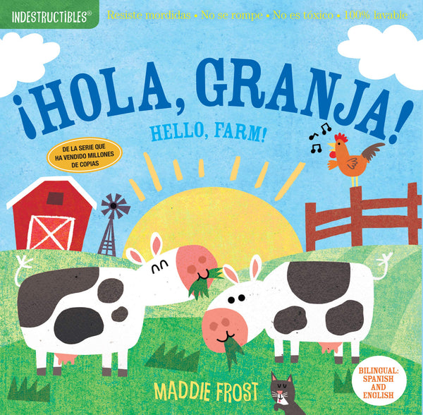 Hola, Granja / Hello Farm Indestructible Book
