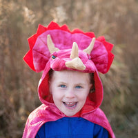 Triceratops Hooded Cape