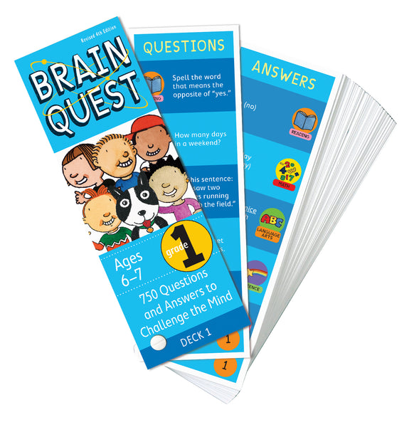 Brain Quest Grade 1 Question Deck