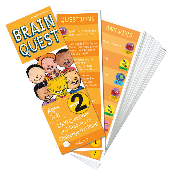 Brain Quest Grade 2 Question Deck