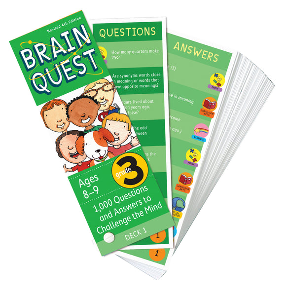 Brain Quest Grade 3 Question Deck