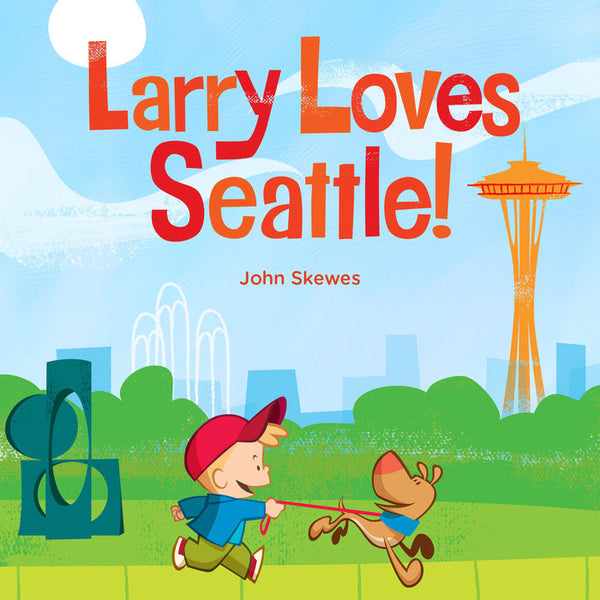 Larry Loves Seattle! Board Book
