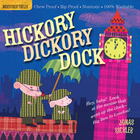 Hickory Dickory Dock Indestructible Book