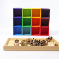 Grimm's Wooden 12-Piece Sorting Helper