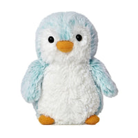 "Blue Pom Pom Penguin 6"" Plush"