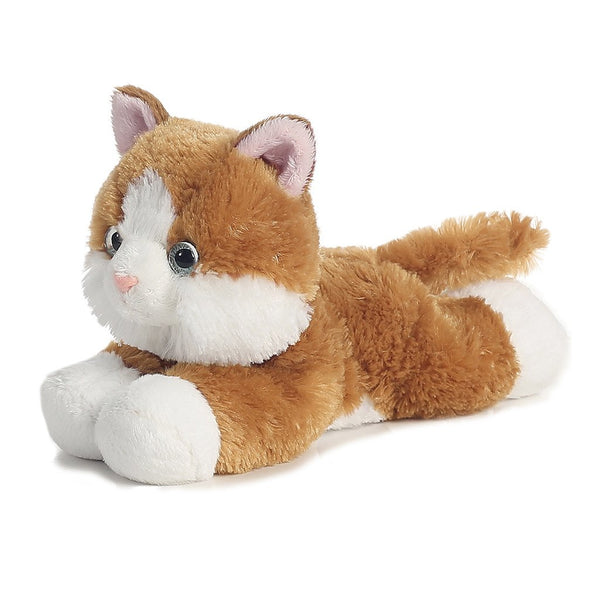 "Sunshine Tabby Cat 8"" Flopsie Plush"