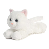 "Little Sugar White Kitty 8"" Flopsie Plush"