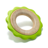 Eco-Friendly Green Ring Teether