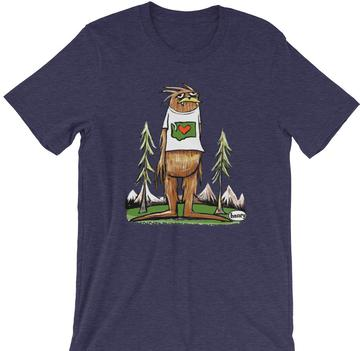 Henry Sasquatch is Big in Washington Youth Shirt