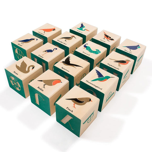Bird Wooden Blocks