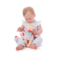 "Wee Baby Stella Sweet Scent Birthday 12"" Soft Doll"